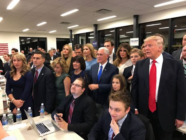 Jason Millerwith Mike Pence and Doald trump 1.JPG