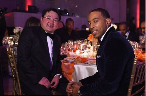 Jho Low and Ludacris