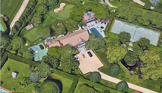 Paul Manafort's estate in the Hampton's