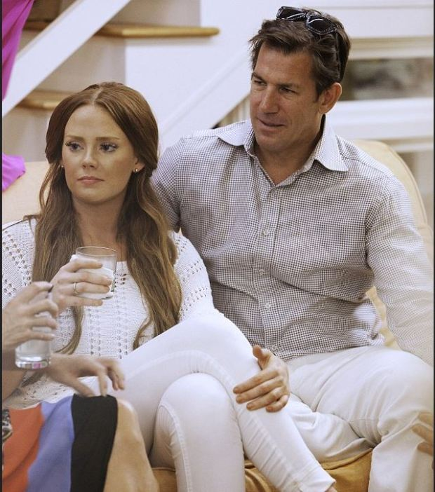 Thomas Ravenel [left], and Kathryn Dennis [right] 1