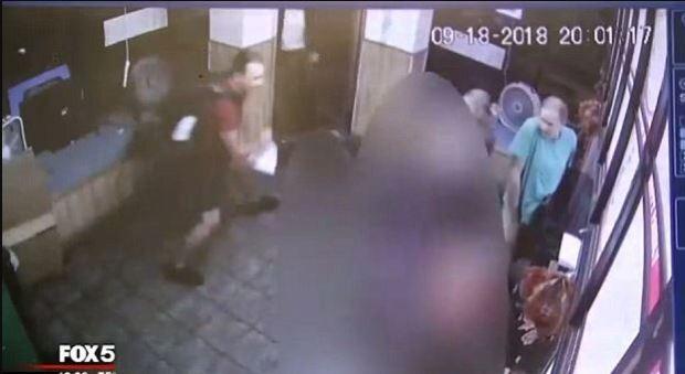 Wendy Martinez stumbles into restaurant bleeding