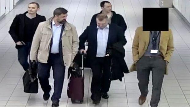 Alexei Morenetz and Yevgeny Serebriakov, Oleg Sotnikov and Alexei Minin 1.jpg