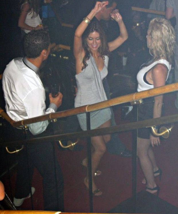 Cristiano Ronaldo and Kathryn Moyorga in the Las Vegas nightclub in 2009 3.JPG