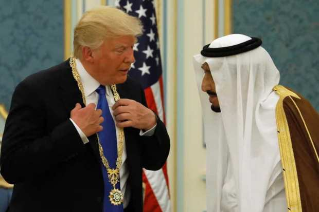 Donald trump and King salman bin Abdulaziz Al Saud of Saudi Arabia.jpg