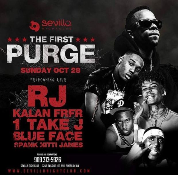 Featured artistes atthe Halloween party included RJ, Kalan.FrFr and 1 Take Jay.JPG