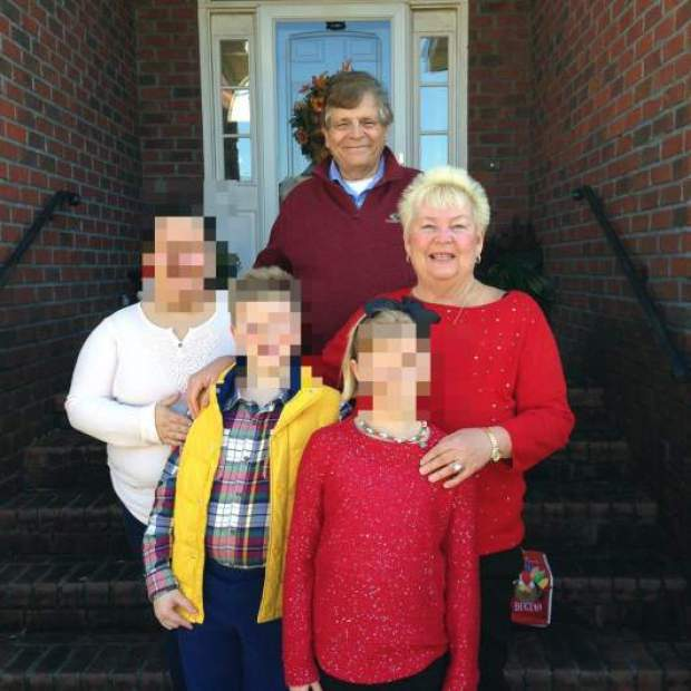 Fred Hokins and his family 2