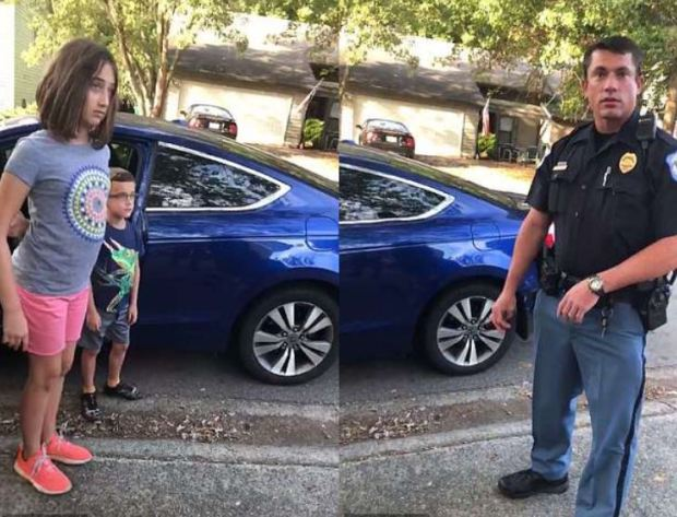 'Get out of the car kids' - Cop orders kids of mentor's car until he could be checked out.JPG