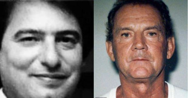 Paul Weadick, 63, (left) and Francis 'Cadillac Frank' Salemme (right) 1