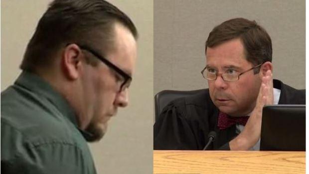 Robert Burns [right] and convicted child killer, Charles Wayne Phifer [left] 1.JPG