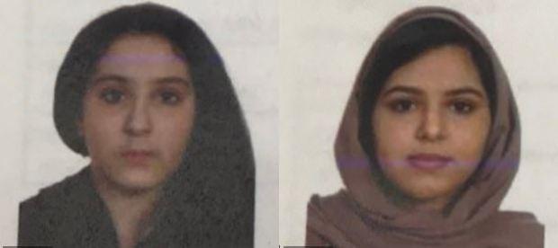 Tala Farea, [left] and Rotana Farea, [right].JPG