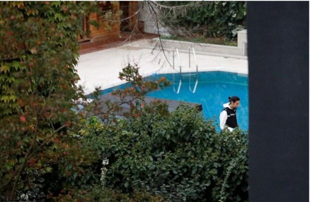 Turkish CSI investigate the residence of Saudi Arabia's Consul General Mohammad al-Otaibi in Istanbul 1.JPG
