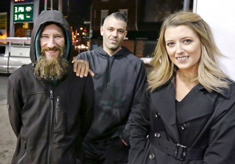 'Feel good story was a sham'! New Jersey couple Mark D'Amico and Katie McClure, homeless man they pair helped with crowd funding, charged in $400K GoFundMe hoax
