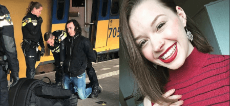 Police arrest Joel Schelling, 'psychotic' Dutch man, 23, who 'murdered' Sarah Papenheim, American student, 21, who tried to help the mentally unstable musician in wake of her own brother's suicide