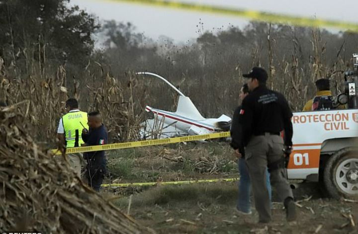 Martha Erika Alonso and her husband Rafael Moreno Valle Rosas were killed when their aircraft crashed. 3