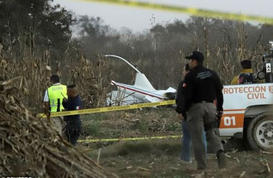 Martha Erika Alonso and her husband Rafael Moreno Valle Rosas were killed when their aircraft crashed. 3
