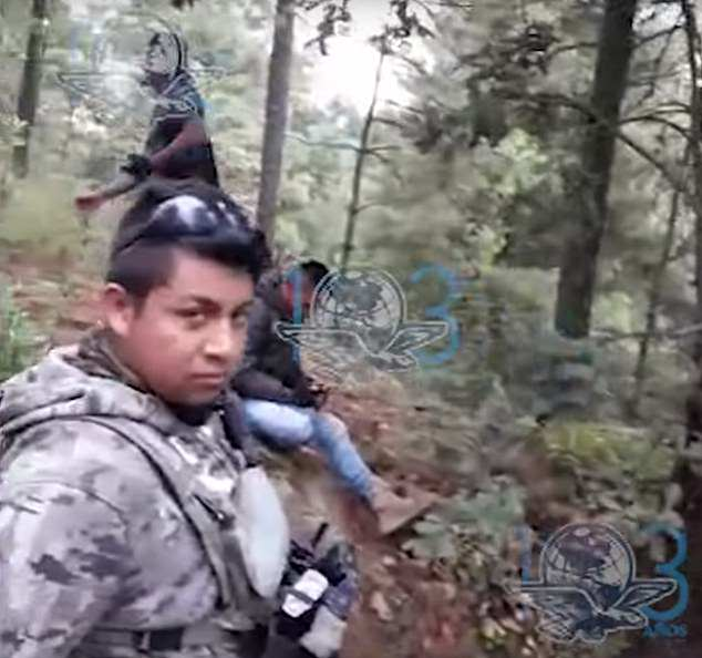 Mexican gang ambush police 4
