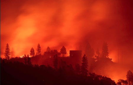 California wild fire 1