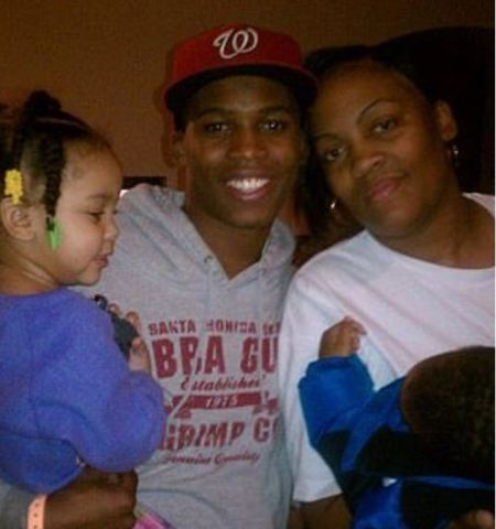 Gemmel Moore [photo] and right and with his mother LaTisha Nixon 3