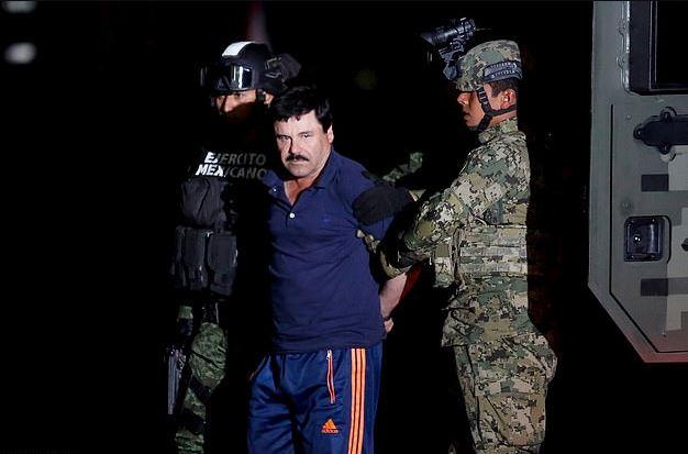 JoaquinEl Chapo Guzman's capture in 2016