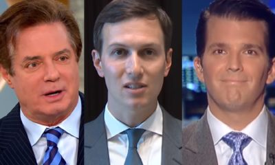 Paul Manafort, Donald Trump Jr, Jared Kushner 1