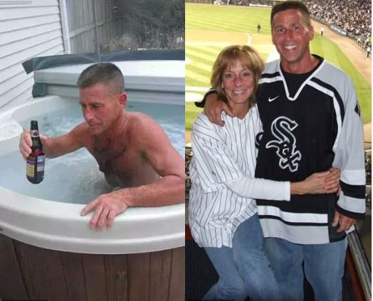 Formerly 'perfect' husband is charged in wife's death! Eric Huska was 'caught on home surveillance video drowning his wife by closing the lid of their hot tub while she struggled to get out'
