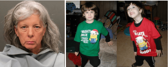 Arizona grandma, Dorothy Lee Flood, 55, charged with double-homicide after shooting dead her twin 8-year-old autistic grandsons when caring for them full-time became 'too much'