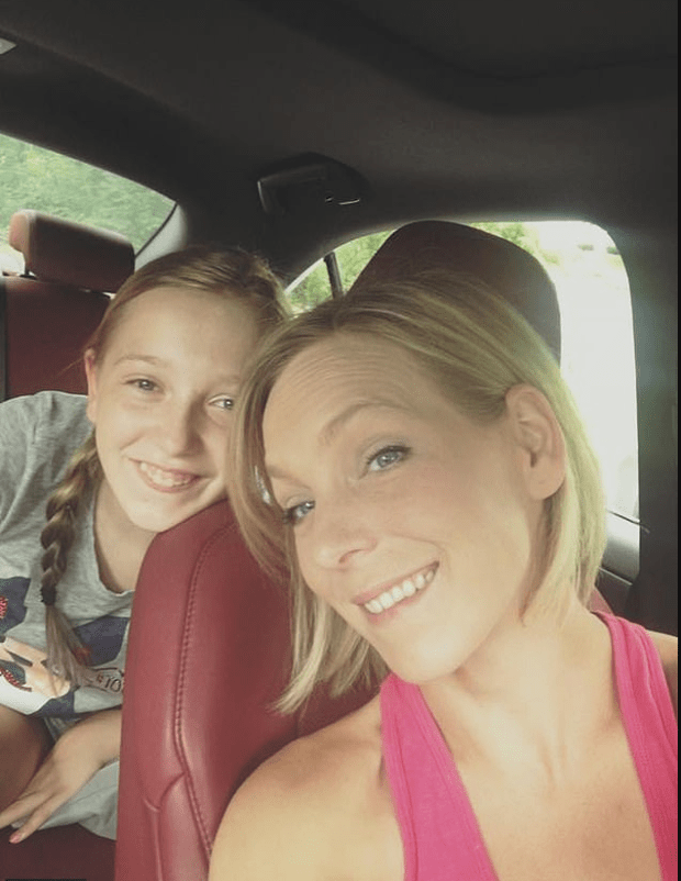 Chantel Oakley and her daughter Roley Crossman 1