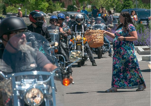 Biker gang mourn Elizabeth Shelley