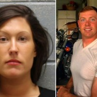 Army wife shoots husband dead with a shotgun on their lawn just three months after giving birth to a daughter - Brittnay Paonessa, 27, skilled Brandyn Paonossa, 26, just three days after he took out a restraining order against her