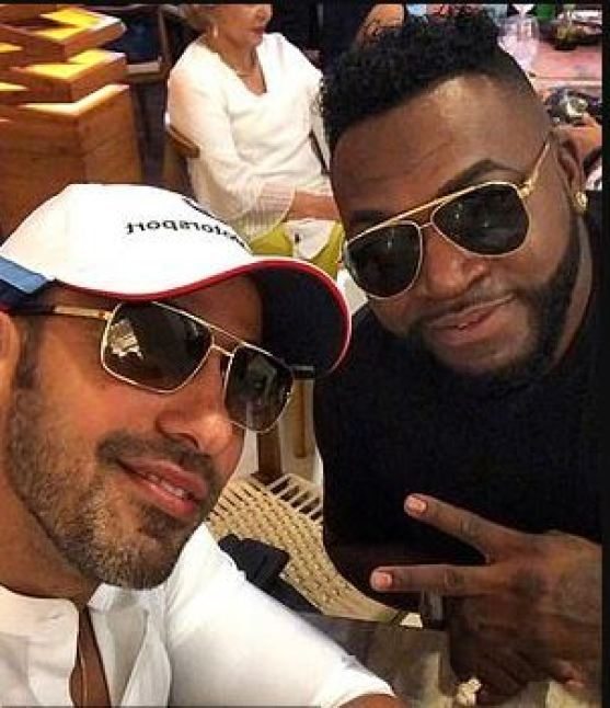 David Ortiz right] and Jhoel Lopez 3