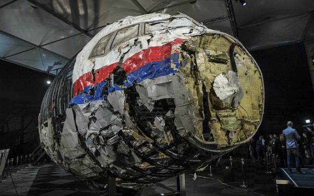 Flight MH17 wreckage 1