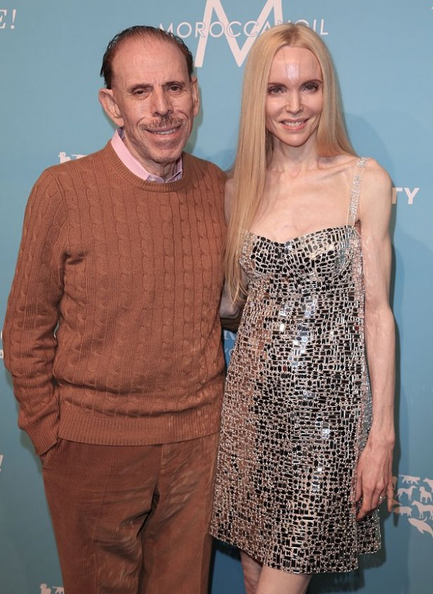 Mary Max [right], with husband Peter Max [left] 2