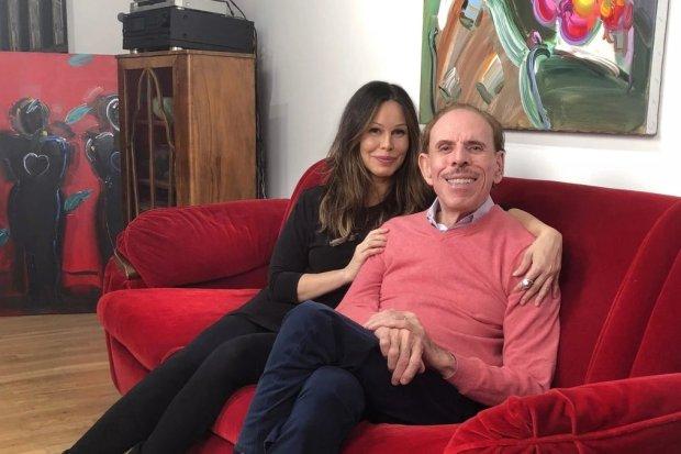 Peter Max and daughter Libra 1