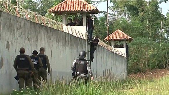 57 inmates dead in Brazil jail riot in Para state after rival gangs
