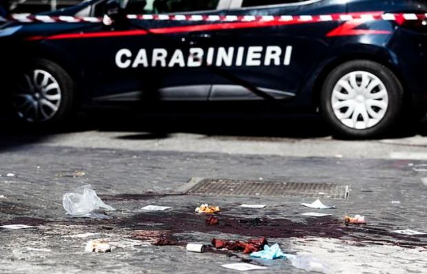 Gruesome scene in Rome where Lee Elder Finnegan and Gabriel Christian Natale Hjorth stabbed Brigadier Mario Cerciello Rega 1.JPG