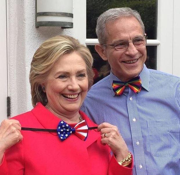 Hillary Clinton and Ed Buck 1