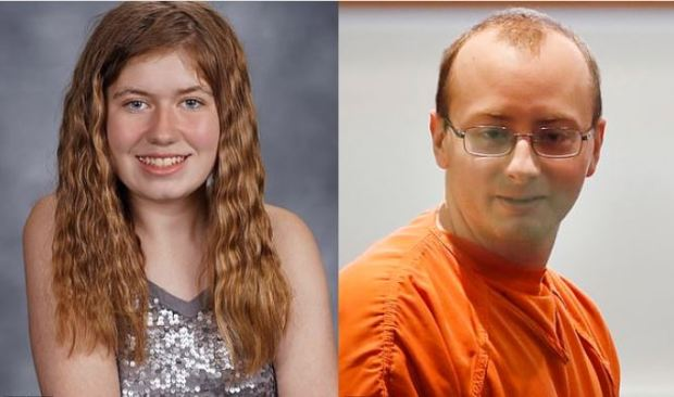 Jayme Closs [left and the mn who abducted her, Jake Patterson 1.JPG