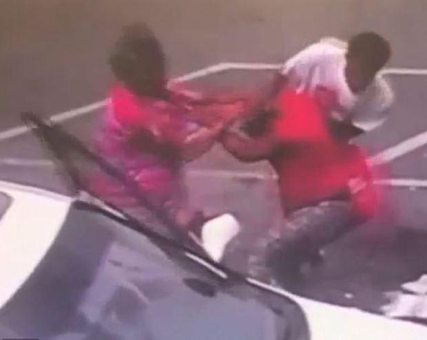 Karen Lashun Harrison fight scene 2
