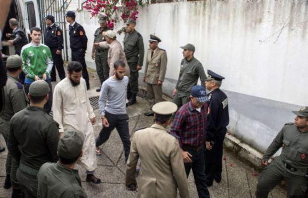 Moroccan Jihadist killers in court.JPG