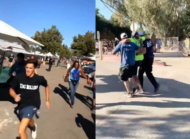 People flee shooting at Gilroy Garlic Festival in California 1