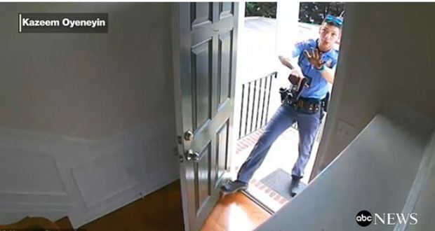 Black North Carolina homeowner was arrested in his own home by two white cops 1