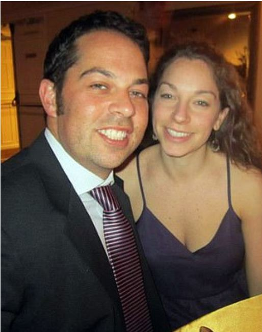 David Kimowitz , [left], with his wife 1