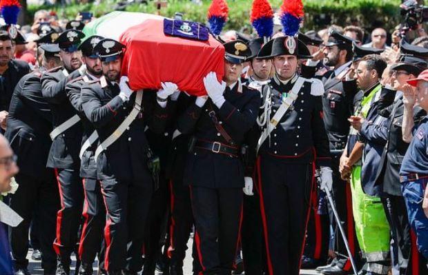 Mario Cerciello Rega  funeral 1.JPG