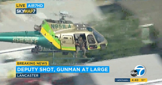 Los Angeles Deputy Shot
