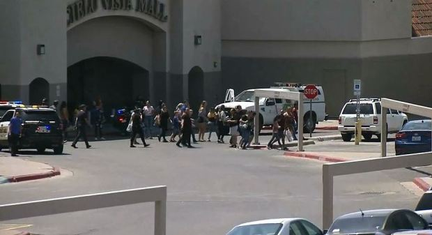 Shoppers file out after Walmart shooting 1