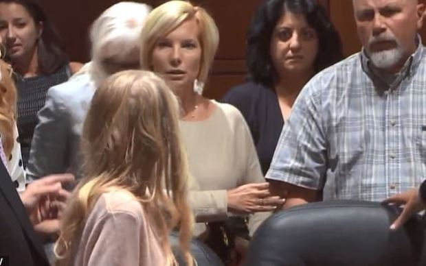 Brooke Skylar Richardson and her parents in court 1