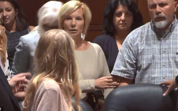 Brooke Skylar Richardson and her parents in court 1