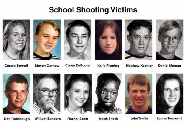 Columbine High Scool shoting victims.JPG
