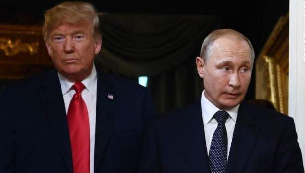 Donald Trump and Vladimir Putin 2