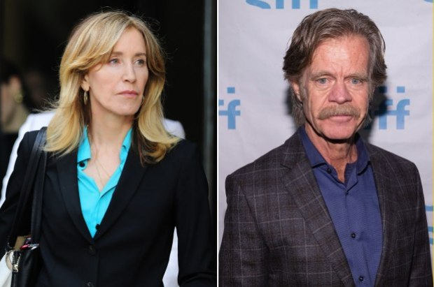 Felicity Huffman (L) and William H. Macy 1